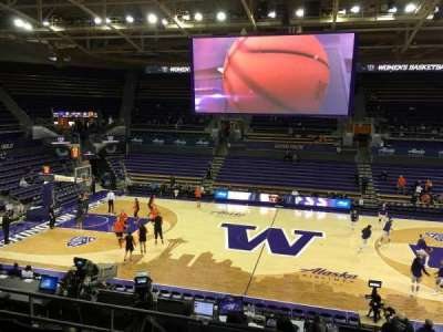 Alaska Airlines Arena at Hec Edmundson Pavilion, section: 8, row: 18, seat: 8