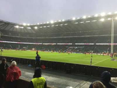 Twickenham Stadium, section: L21, row: 3, seat: 93