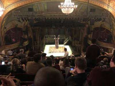Richard Rodgers Theatre, section: Rear Mezz, row: F, seat: 111-112