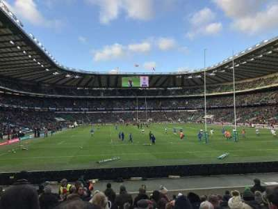 Twickenham Stadium section L35