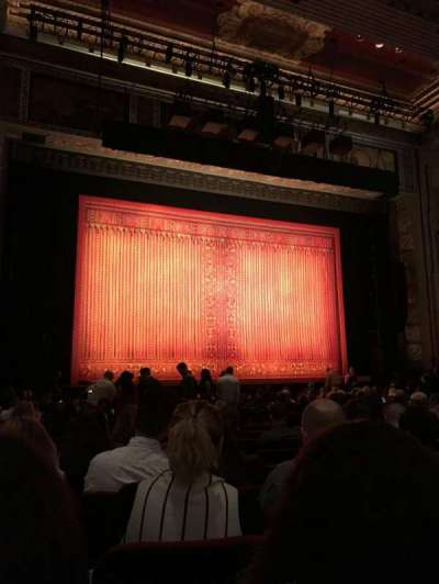 Pantages Theatre (Hollywood), section: Center Left, row: T, seat: 307