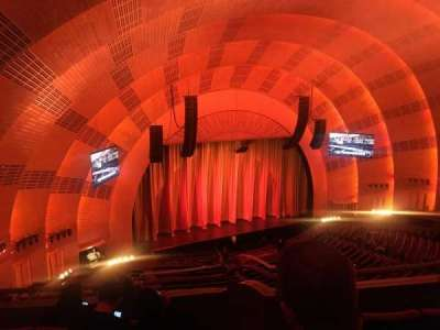 Radio City Music Hall, section: 3rd mezzanine 7, row: D, seat: 702