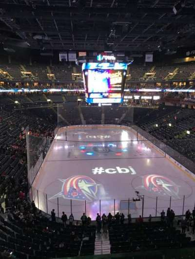 Nationwide Arena, section: 225, row: A, seat: 1