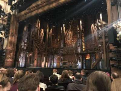 Victoria Palace Theatre, section: stalls, row: G, seat: 10