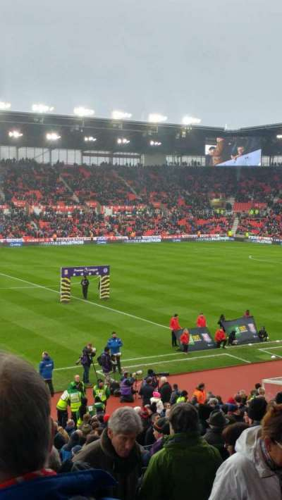 bet365 Stadium, section: Block 16, row: 26, seat: 166