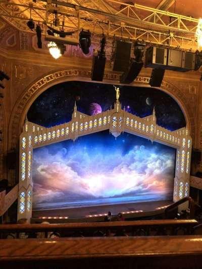 Eugene O'Neill Theatre, row: E, seat: 123