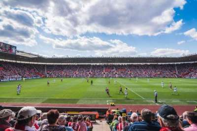 St Mary's Stadium, section: 8