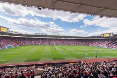 St Mary's Stadium, section: 9
