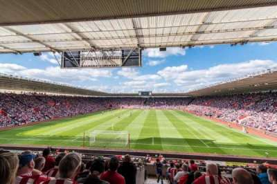St Mary's Stadium, section: 17