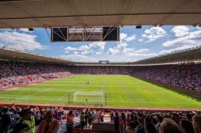 St Mary's Stadium, section: 43