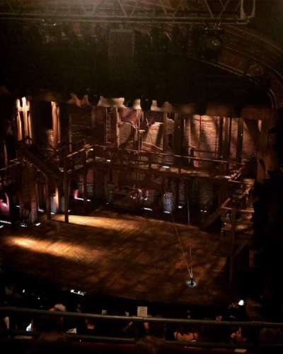 Richard Rodgers Theatre, section: Rear Mezzanine, row: D, seat: 28