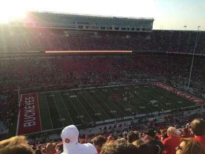 Ohio Stadium, section: 26 C, row: 34, seat: 29