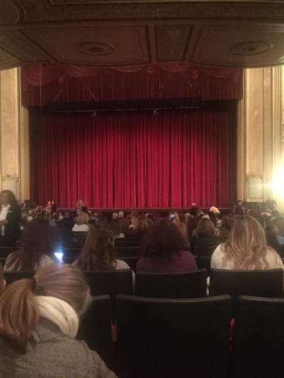 Palace Theatre (Columbus), section: MFLR 2, row: W, seat: 110
