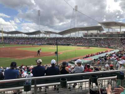 JetBlue Park, section: 216, row: 2, seat: 7