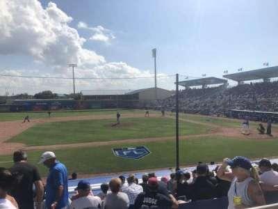 Florida Auto Exchange Stadium, section: 209, row: 2, seat: 12