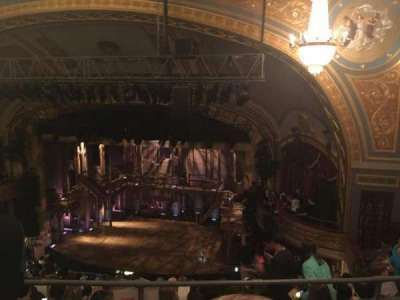 Richard Rodgers Theatre, section: Rear Right Mezz, row: B, seat: 16