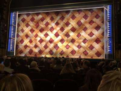 Nederlander Theatre, section: Orch, row: K, seat: 115