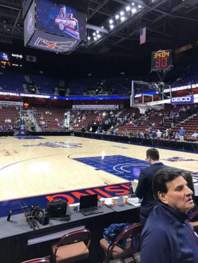 Mohegan Sun Arena section 12