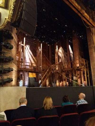 CIBC Theatre, section: Orchestra left, row: F, seat: 17