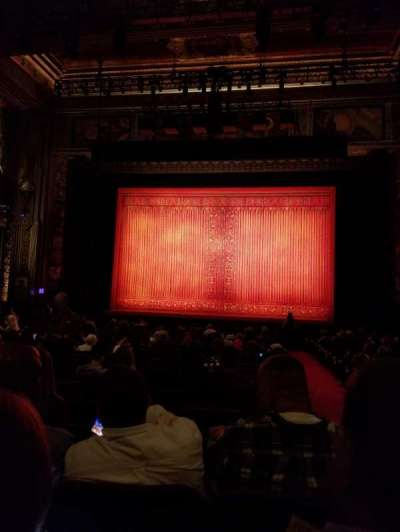 Pantages Theatre (Hollywood), section: Orchestra C, row: X, seat: 101