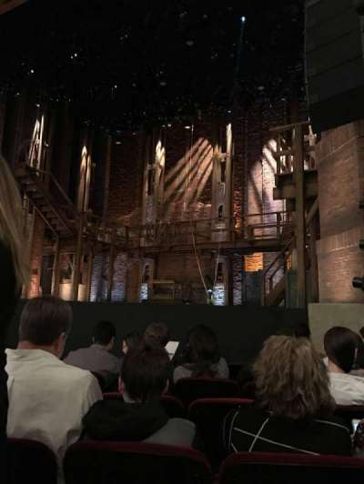 CIBC Theatre, section: Orchestra R, row: G, seat: 10