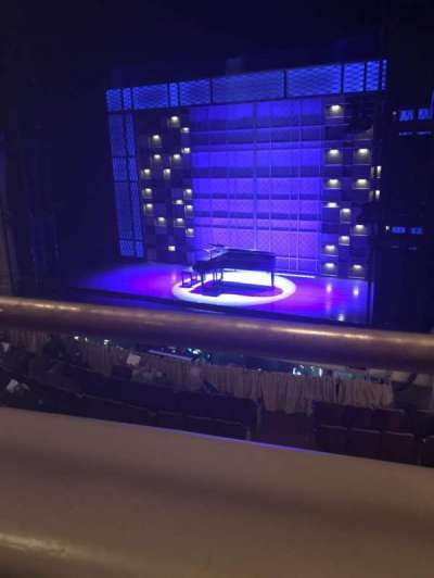 Shubert Performing Arts Center, section: Mezzazine, row: A, seat: 8