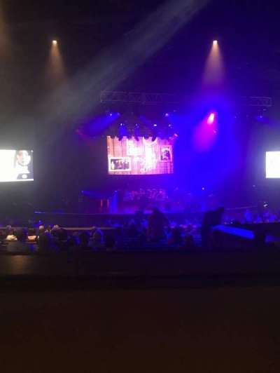 The Joint: Tulsa, section: 202, row: K, seat: 13