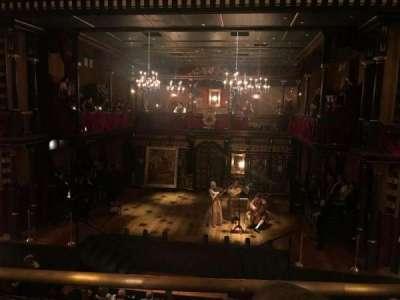 Belasco Theatre, section: Mezzanine, row: B, seat: 110