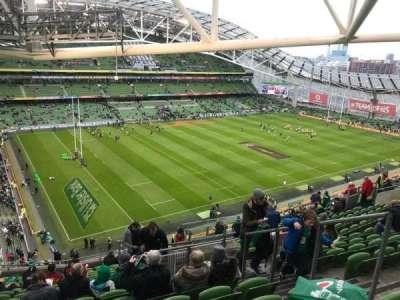 Aviva Stadium, section: 509, row: S, seat: 20