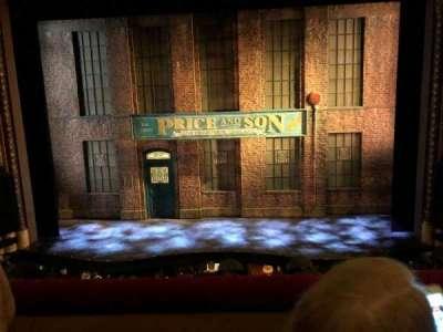 Al Hirschfeld Theatre, section: Mezzanne Center, row: B, seat: 104