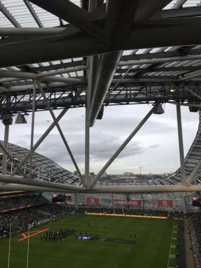 Aviva Stadium, section: 512, row: T, seat: 23