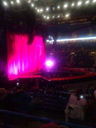 Scottrade Center, section: 117, row: U, seat: 7