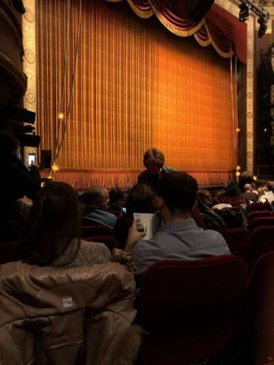 Imperial Theatre, section: Orch, row: K, seat: 23