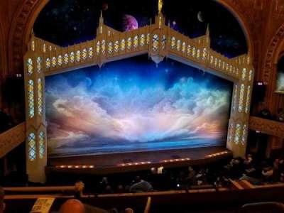 Eugene O'Neill Theatre, section: Mezz Left, row: C, seat: 1