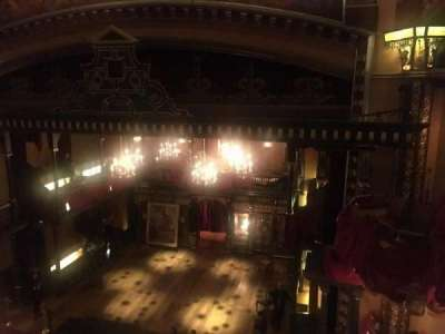Belasco Theatre, section: Balcony, row: A, seat: 4