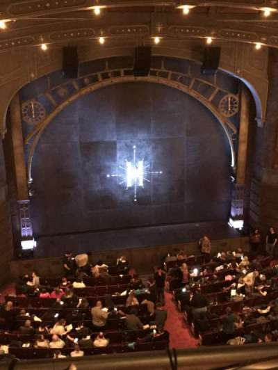 Lyric Theatre, section: Balcony Center, row: A, seat: 101
