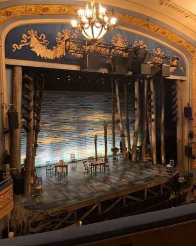 Gerald Schoenfeld Theatre, section: Left Mezzanine, row: C, seat: 13