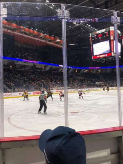 FirstOntario Centre, section: 112, row: 3, seat: 5