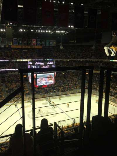 Bridgestone Arena, section: 324, row: G, seat: 1