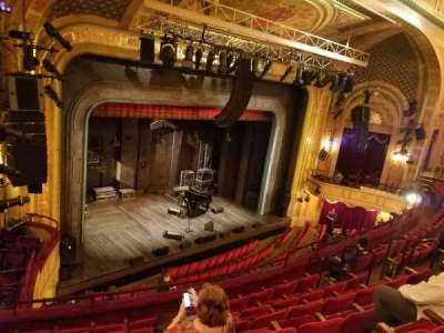 Walter Kerr Theatre, section: Left Mezzanine, row: G, seat: 25