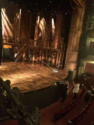 CIBC Theatre, section: Dress Circle box 3, row: BX3, seat: 5