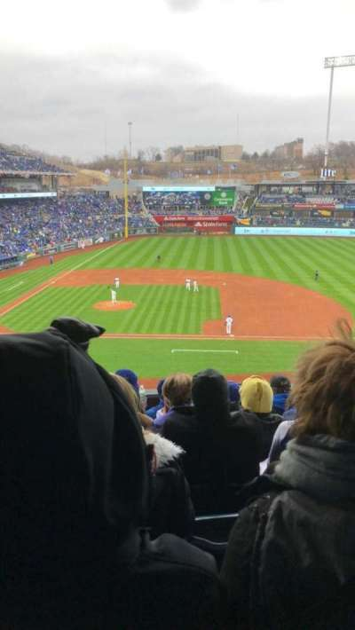 Kauffman Stadium, section: 316, row: F, seat: 5
