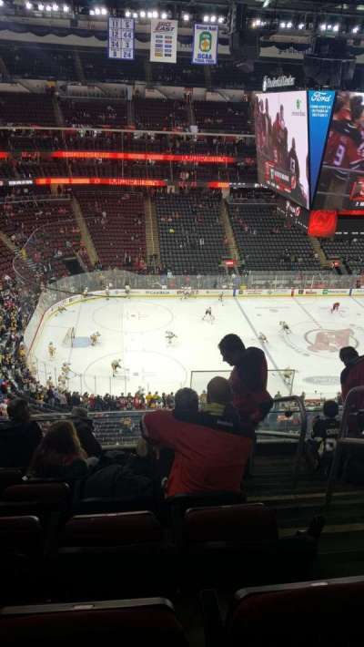 Prudential Center, section: 109, row: 6, seat: 2