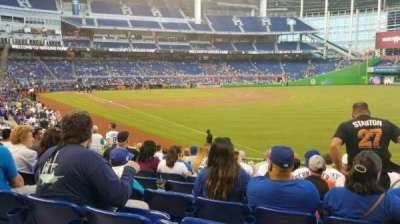Marlins Park, section: 3, row: 2, seat: 3