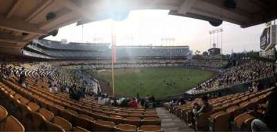 Dodger Stadium, section: 166LG, row: R, seat: 20