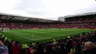 Old Trafford, section: N1401, row: QQ, seat: 286
