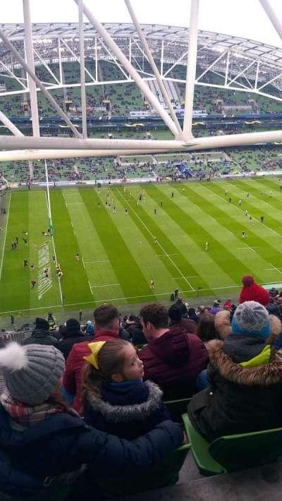 Aviva Stadium, section: 508, row: FF, seat: 14