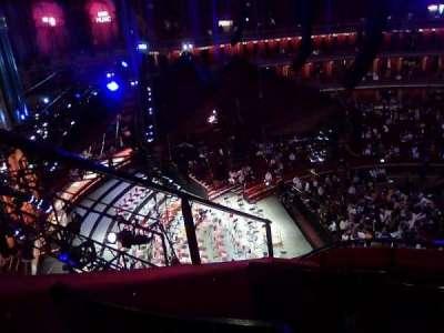 Royal Albert Hall, section: Circle P, row: 7, seat: 1