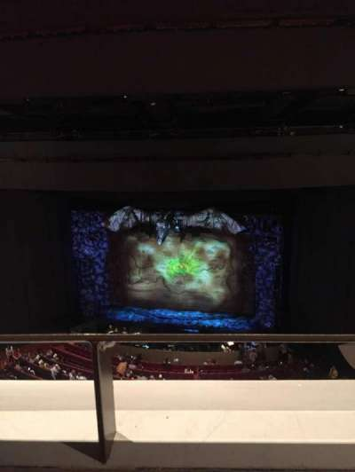 Andrew Jackson Hall, section: Balcony, row: T, seat: 22