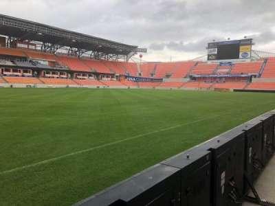 BBVA Compass Stadium, section: Field